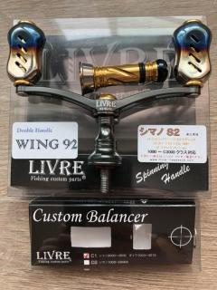 Mint Cond Livre Wingman 92 and balancer
