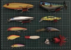 Assorted Lures & Accessories