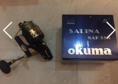 Okuma SAF55S Live Liner reel
