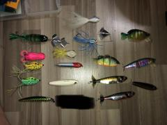 27 lures ONE SHOT TAKE ALL