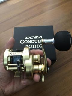 Shimano Ocea Conquest 201HG