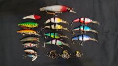 Assorted Floating Lures - 15 Pieces