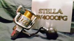 Stella SW4000PG (2008 Model)– Super Rare Reel !! Collectable items – Cond (9.7/10)