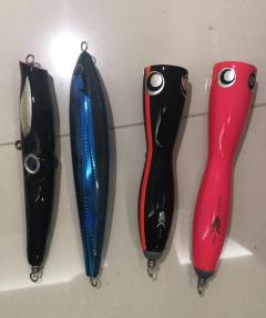 Popping Lures Set B