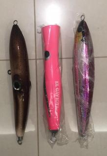 Popping Lures Set C (Brand new)