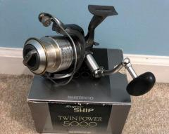 Shimano Twin Power 5000 Reel - Unique Design