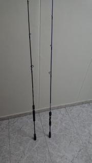 Jigging rods