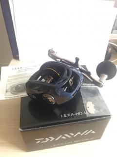 Daiwa Lexa HD 400 High Speed Left Hand Power Baitcast Reel 8.1:1 LEXA-HD400XSL-P