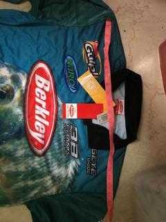 Last Piece Brand New Berkley UPF 50 Long S Fishing Shirt
