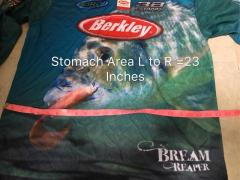 Last Piece Brand New Berkley UPF 50 Long S Fishing Shirt