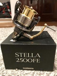 10 stella 2500FE + breadeh double handle.