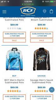 Brand New BCF Long Sleves Fishing Shirt-last piece