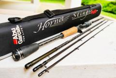 JDM Abu Hornet Stinger+ Plus 4 pc Baitcast Travel Rod