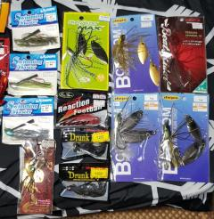 Clear stock sale!!! Branded Japan Rubber lure + Spinner + Jig Head