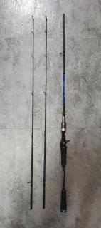 Johncoo BC casting rod with 2 rod tip BINB