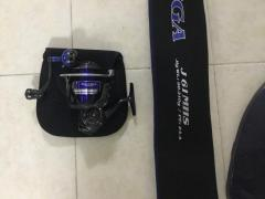 Selling daiwa saltiga 4000h and rod...with box n bag.. everything's in...