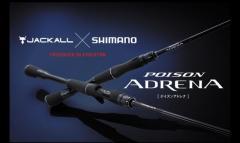 2018 Shimano X Jackall Poison Adrena 1611M+