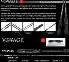 Bone Voyage BVS764XXH Travel Rod (Spinning)