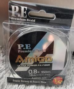 Amigo PE Braid Line PE 0.8
