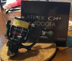 Shimano Stradic CI4+ 4000FA