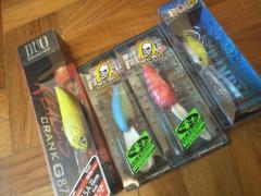 crankbaits and topwater lures