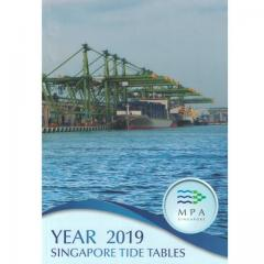 Singapore Marine Tide Tables MPA 2019
