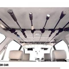 Rod Carrier for Cars / Boats & Anywhere you can strap it to.