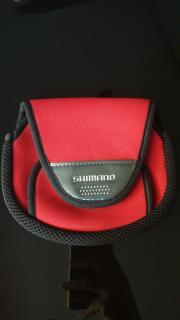 Shimano Medium Spinning Reel Soft Case PC-031L (M) Red (#3000~C5000) 785848