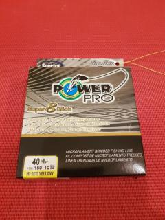 Powerpro line 40lb