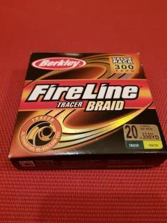 Fireline tracer braid 20lb