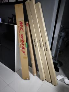 Fishing rod boxes