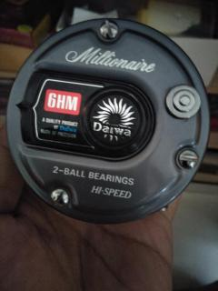 Collector's reel Daiwa Millionaire 6HM