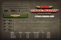 WTB Rapala - TRAIL BLAZER - 4 pcs spinning rod