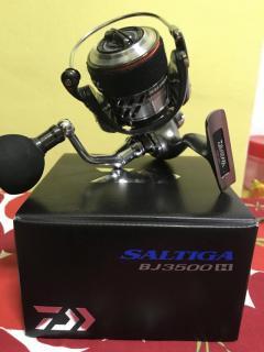 Daiwa Saltiga BJ 3500 & Saltiga Rod