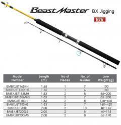 Shimano Beatmaster Vertical Jigging Rod