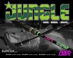 Feed Jungle PE4 Baitcaster Rod
