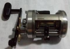 Shimano Cardiff 400A upgraded to Carbon Drags and Power handle