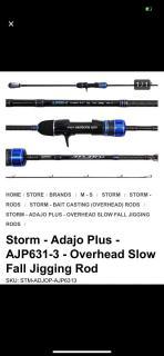 Storm Adajo plus PE 3