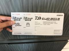 Daiwa competition ticket @ PRMP