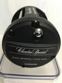 Shimano Charter Special, TR 2000 liver drag ; level wind, Japan made