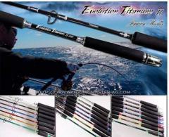 JM Titanium Evolution II Spinning Rod