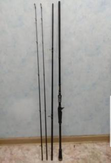 Johncoo Baitcasting Rod, 2.7M comes with 2 tip (M & MH)