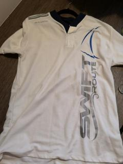 Sportfish white shirt size XL