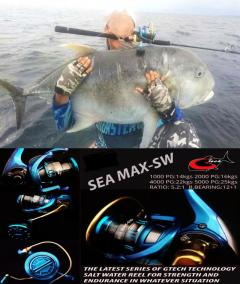 Gtech Saltwater Reel (High Drag) JAPAN(Limited Edition)
