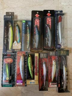 BNIB Japanese lures