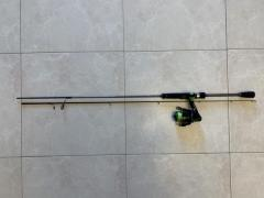 Storm BFS Rod and Lews Spinning Reel
