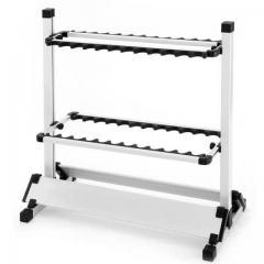 Aluminium 24slot rod stand