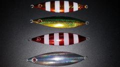 Slow faill jigs with red eye 200g,250g