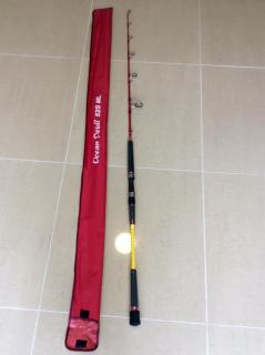 Jigging master- ocean devil spinning rod PE 3-6..