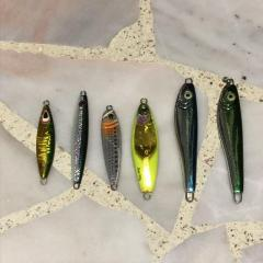 Used Mixed Jigs x 6 pieces